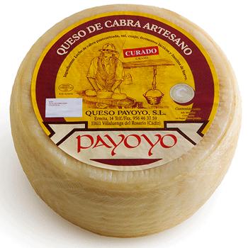 Queso payoyo de cabra curado jamones sime n - Beneficios queso de cabra ...
