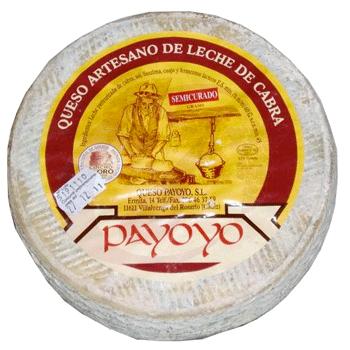Queso payoyo de cabra semicurado jamones sime n - Beneficios queso de cabra ...