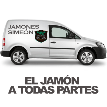 envios gratis jamones simeon a partir de 45€ de compra