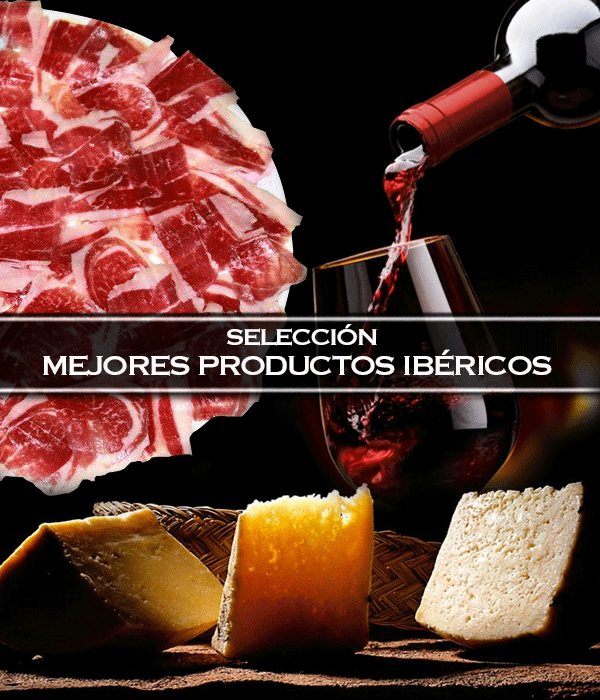 seleccion-productos-ibericos-jamon-queso-vinos