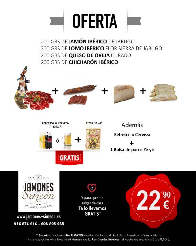 Oferta productos iberico jamones simeon